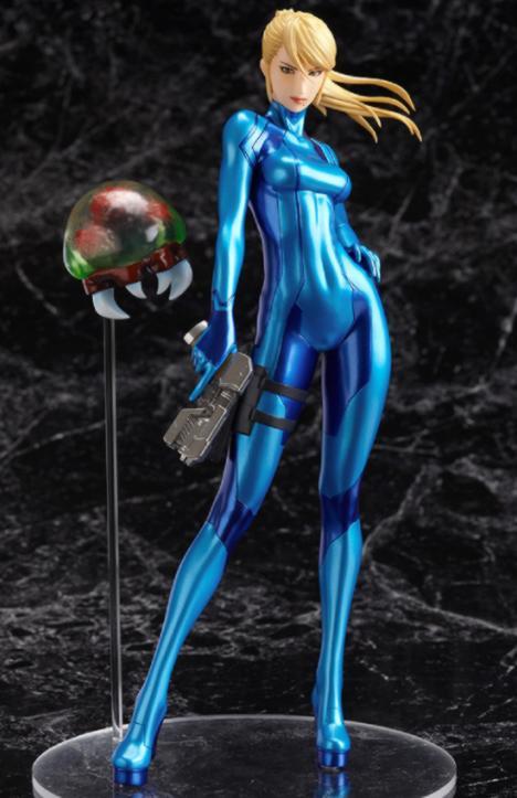 Samus Aran zero suit figure | Tecknomano