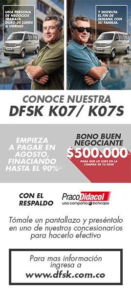 Conoce nuestra DFSK K07 / K07S
