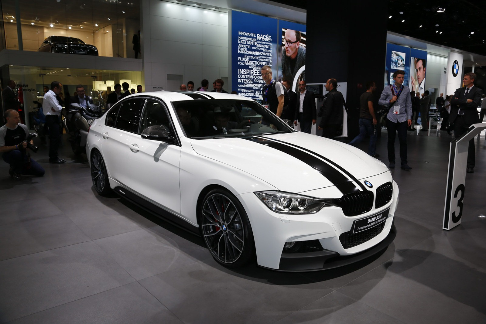 Bmw 335i sedan with m performance accessories