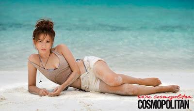 hot beach Son Ye Jin Cosmopolitan magazine Korea June 2012