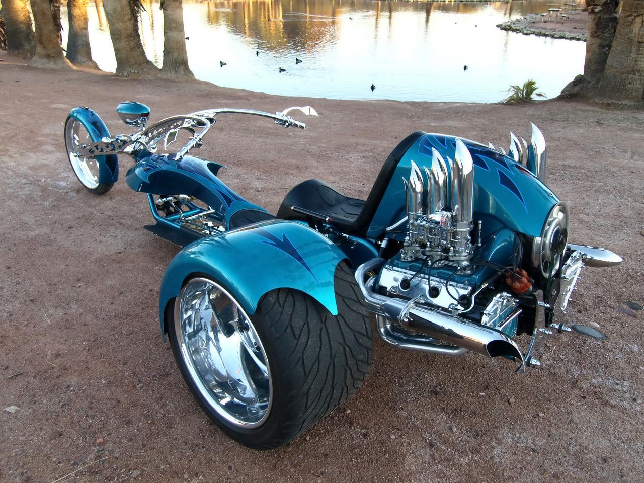 Motocando Com O Conde Triciclo Fera