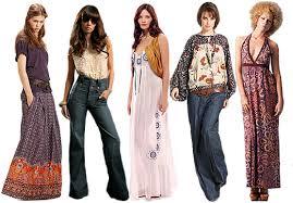 L 39 histoire de la mode la mode des ann es 70 - Mode hippie femme annee 70 ...