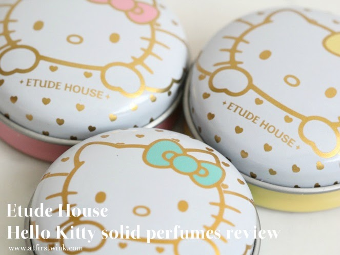 Etude House Hello Kitty solid perfumes review