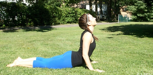 yoga right cobra