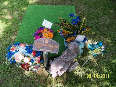 Justin's burial
