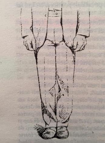 postura paralela