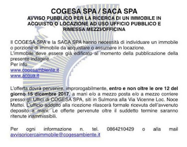 COGESA CITTA' DI SULMONA - TUTTI DIFFERENZIATI