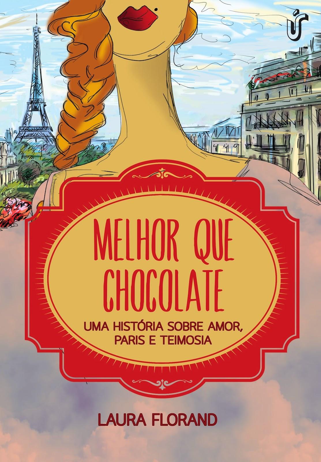 Capa - Melhor Que Chocolate - Silêncio Que Eu To Lendo
