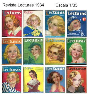FCModeltips revista Lecturas 1/35 1934