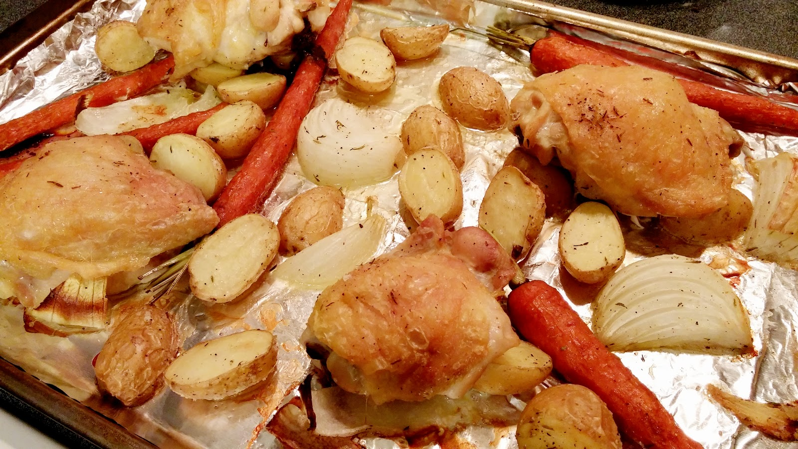 how to cook red potatoes and carrots in oven