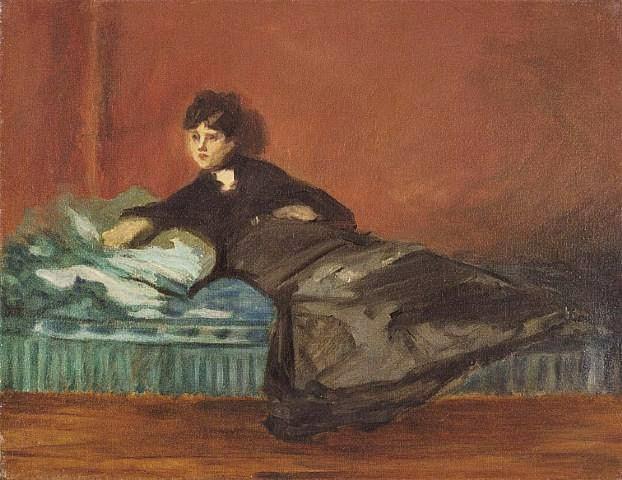 Manet+(french+artist,+1832–1883)+portrait+of+berthe+morisot+(french