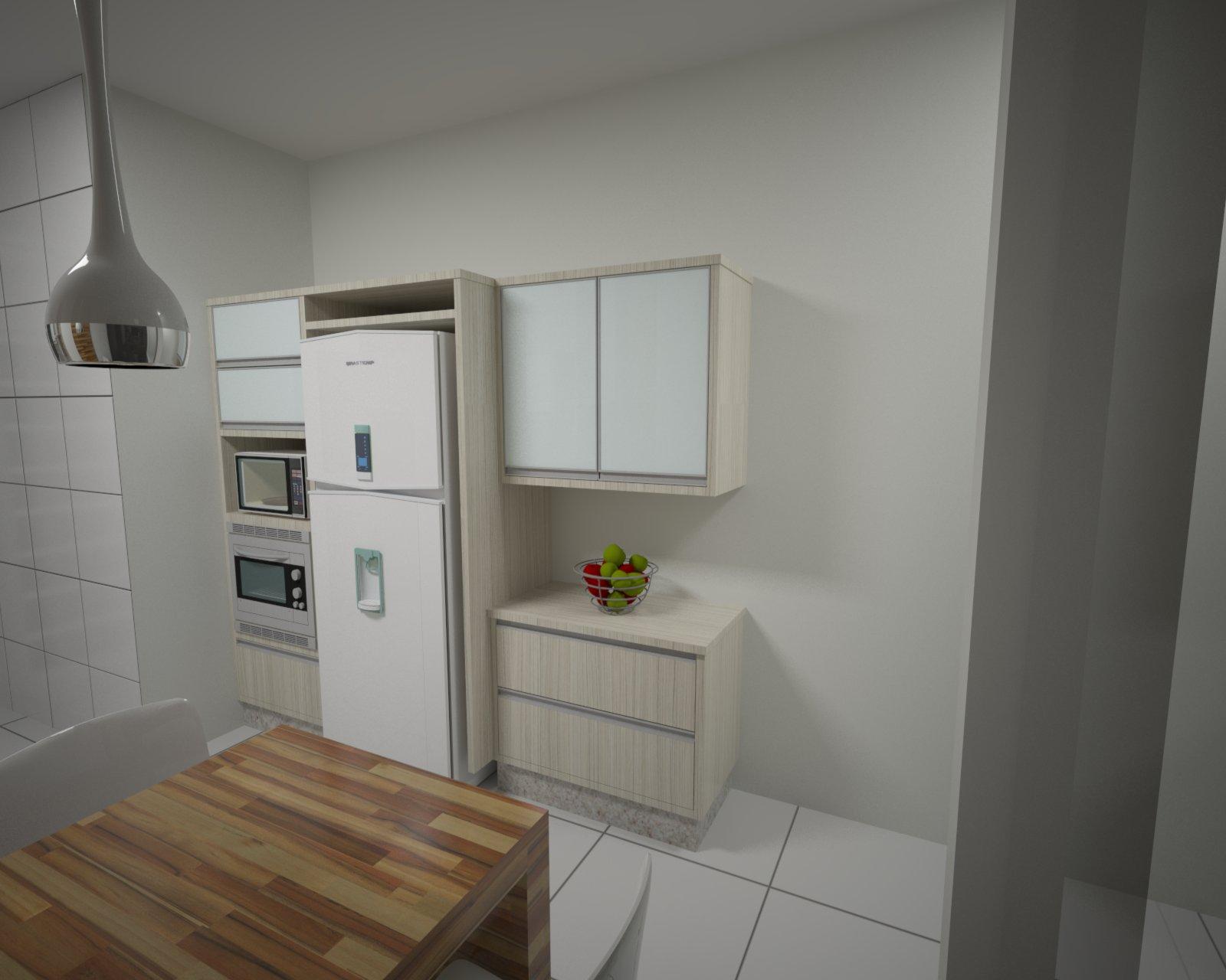 Projetos 3D para Marcenaria: Projetos Cozinhas #5F4C38 1600 1280