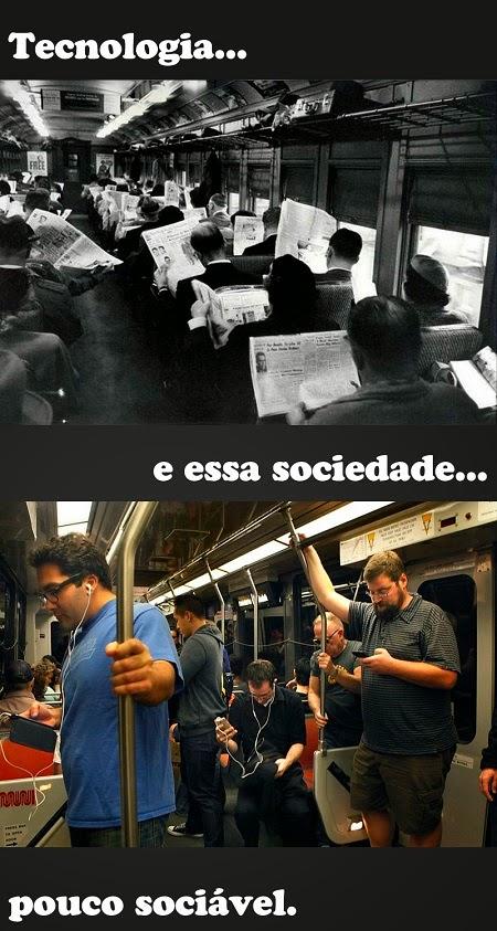 tecnologia e sociedade pouco socievel