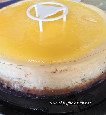 Kek's Bakery Tadıtam Limonlu Cheesecake 3