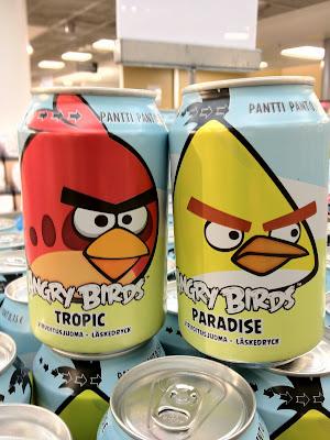 Angry Birds 汽水