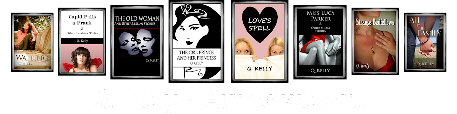 Q. Kelly&#39;s Author Website