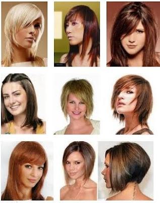 Saç Kesimleri Bayan Saç Modelleri 2012