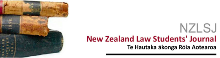 New Zealand Law Students' Journal