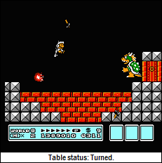 Bowser. Hammered.