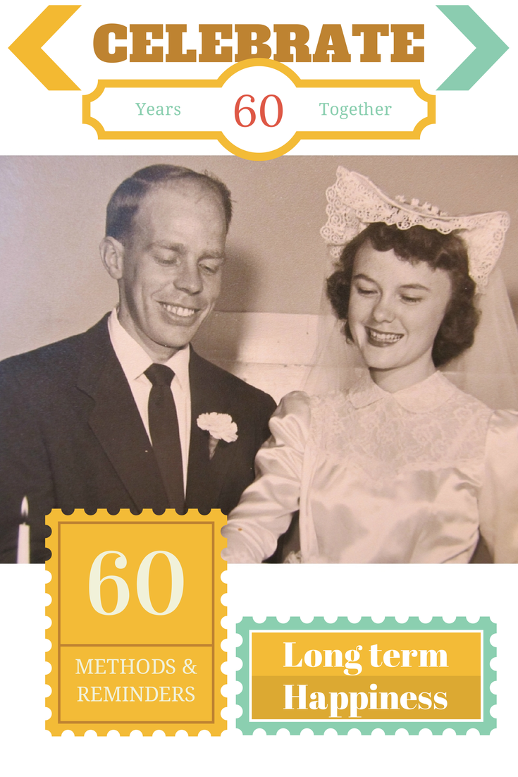 60 Methods to Celebrate 60 Years of Marriage at RainbowsWithinReach