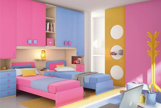 Habitaciones con estilo colores para dormitorios infantiles - Combinacion de colores para habitaciones ...