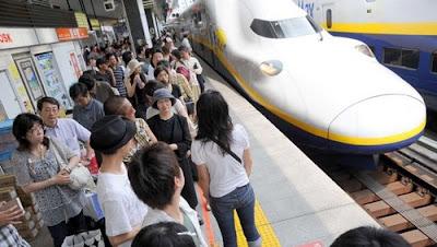 Shinkansen, Japon