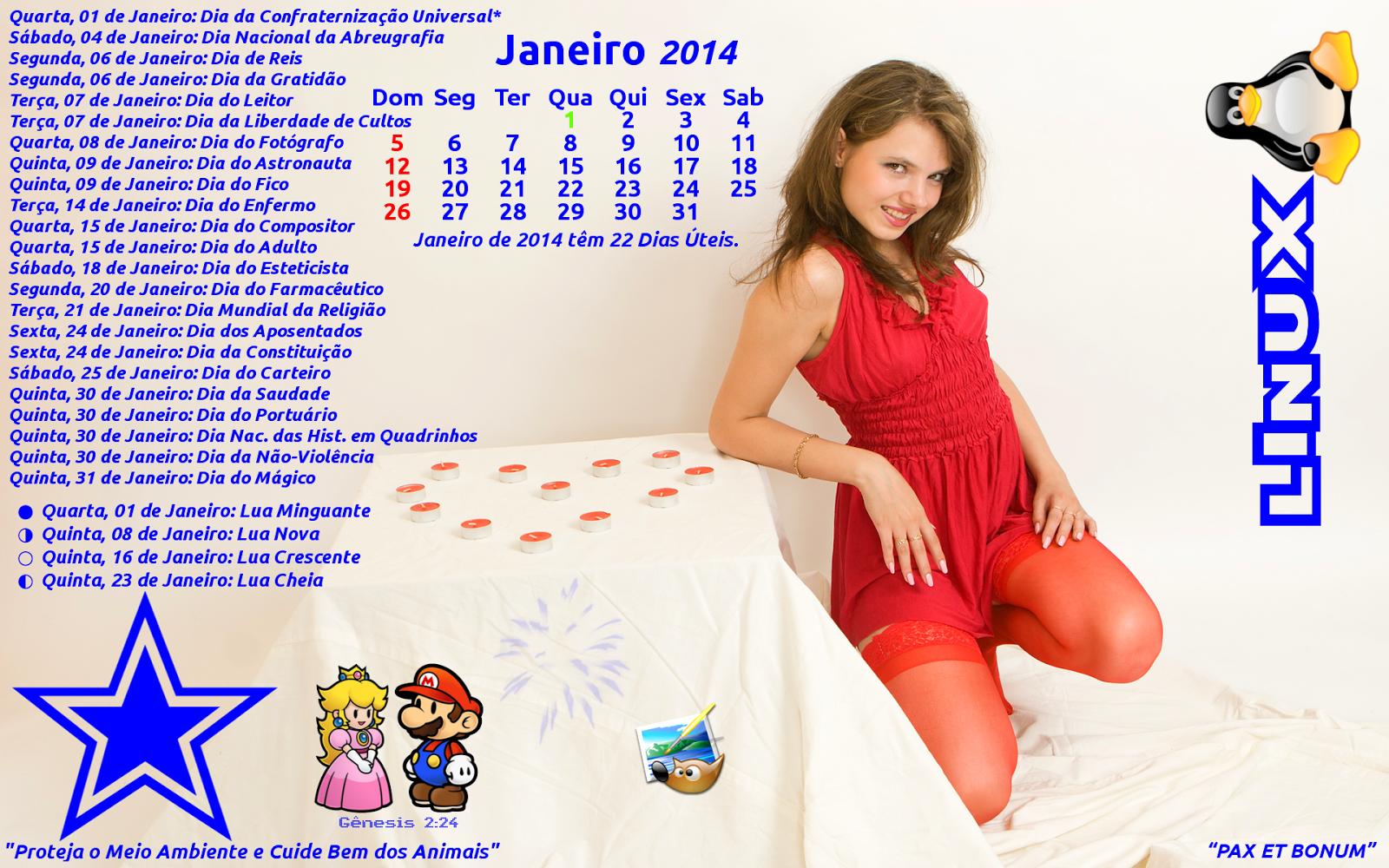 superlinuxmg-br: Sandra Model Calendário Janeiro 2014 Promo-Gimp ...: superlinuxmg-br.blogspot.com/2013/12/sandra-model-calendario...
