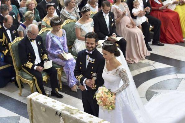 Wedding Of Prince Carl Philip And Sofia Hellqvist At The Royal Chapel