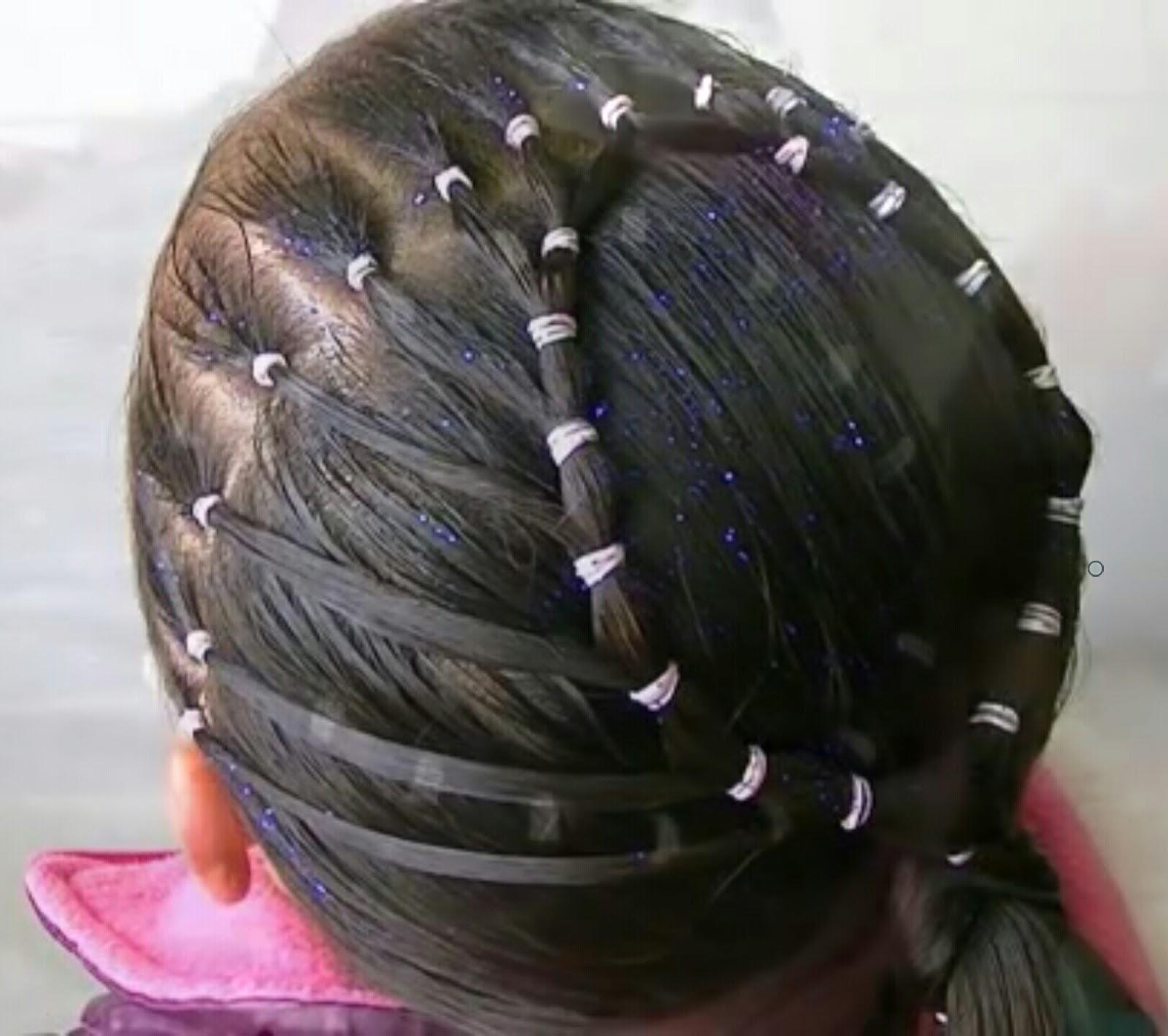 5 tutoriels coiffure de fête hyper faciles pour petite fille ...