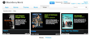Blackberry World Hadirkan Musik, Program Tv Dan Film