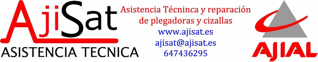 Asistencia tecnica Ajial, reparación y venta de plegadoras y cizallas