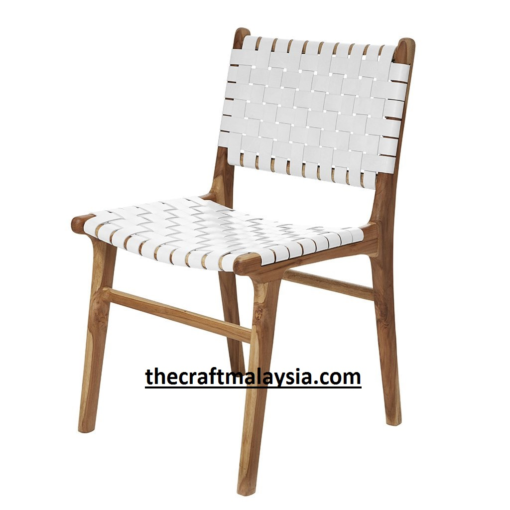 #Cross #Dining #chair, #Solid #teak Wood #dining #chair