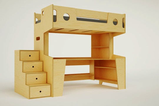 cool space saving kids furniture