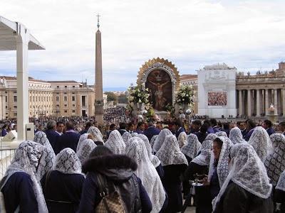 Señor de los Milagros en Roma