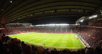 Estadio Old Trafford en Manchester