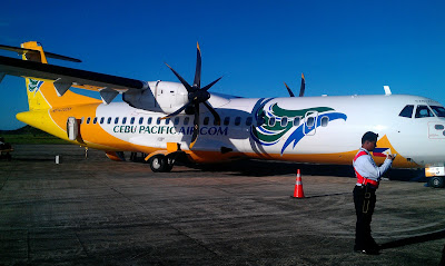 Flying through Cebu Pacific Air
