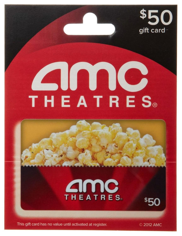 Sasaki Time: Giveaway: AMC Theatres $50 Gift Card!