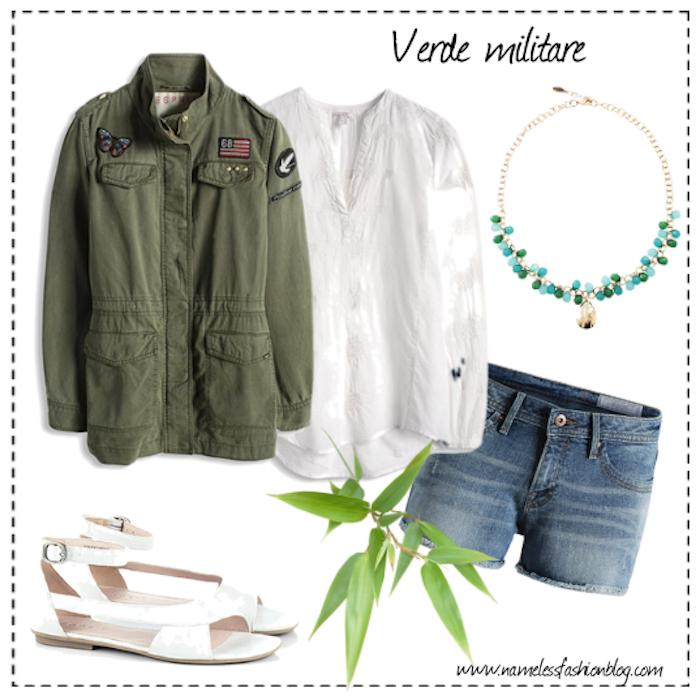 trend verde militare