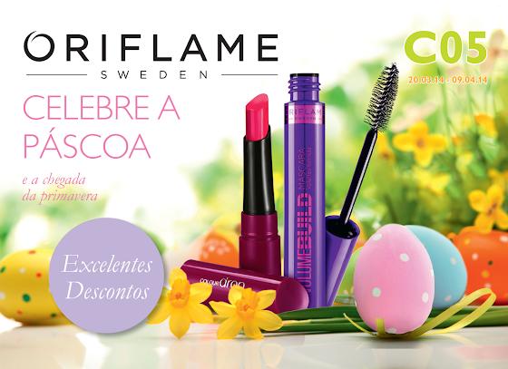 Flyer Oriflame - Catálogo 05 de 2014