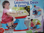 New My Own Learning Desk & Easel RM120 only.