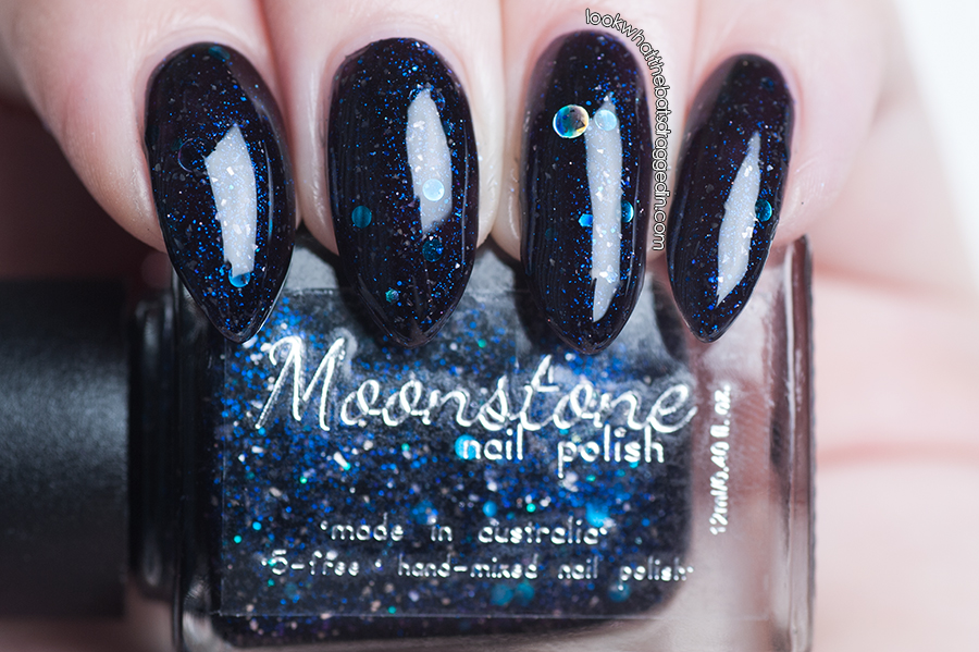 Moonstone Nail Polish swatch Deathday Party