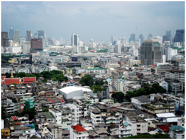 Photograph Bangkok City Cityscape Building