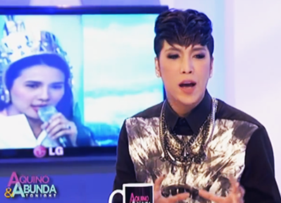 Vice Ganda on Aquino and Abunda Tonight