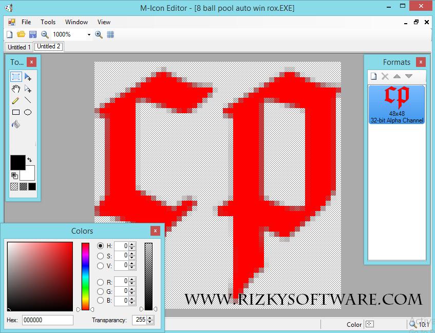 M Icon Editor 1.10 Full Version
