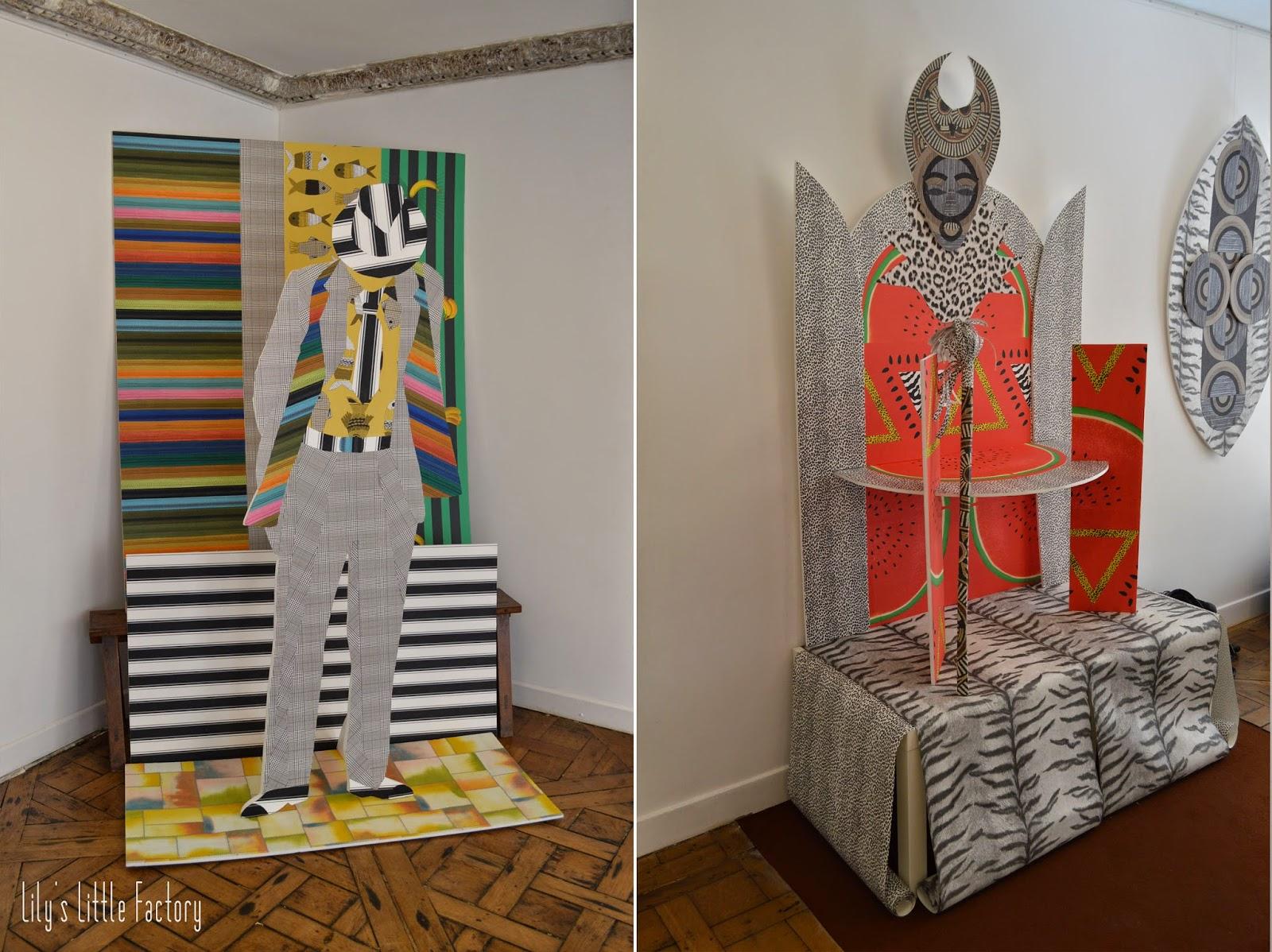 papier peint tendance 2015 - Tissus et papiers peints les tendances 2016 du Paris Déco