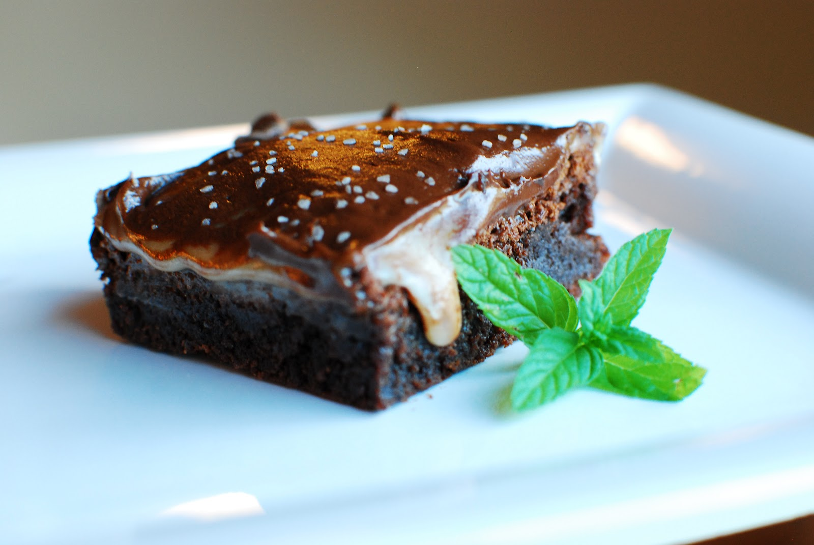 Cooking à la Mode: Salted Browned Butter Brownies