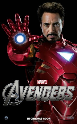 The Avengers Character One Sheet Movie Poster Set 2 - Robert Downey Jr. as Iron Man