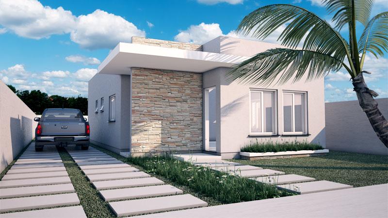 Casa com afeto fachadas modernas para casas pequenas for Casas modernas lindas