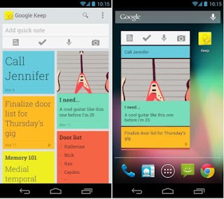 Google Keep –  Note Taking Service like Evernote
