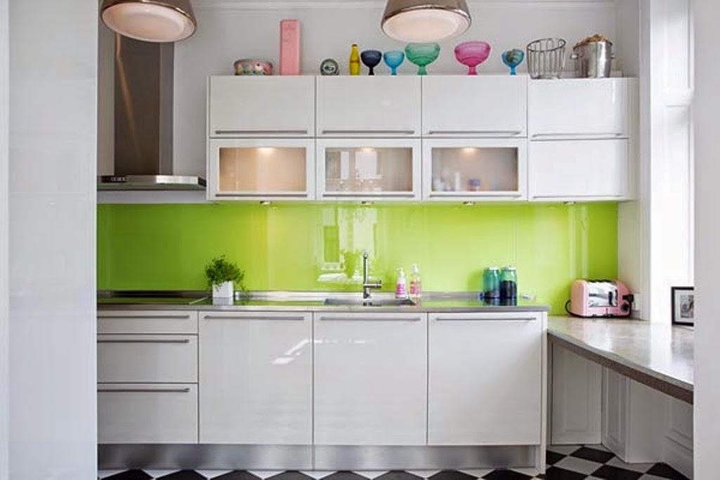 Tips Dekorasi Dinding Dapur Mungil 3